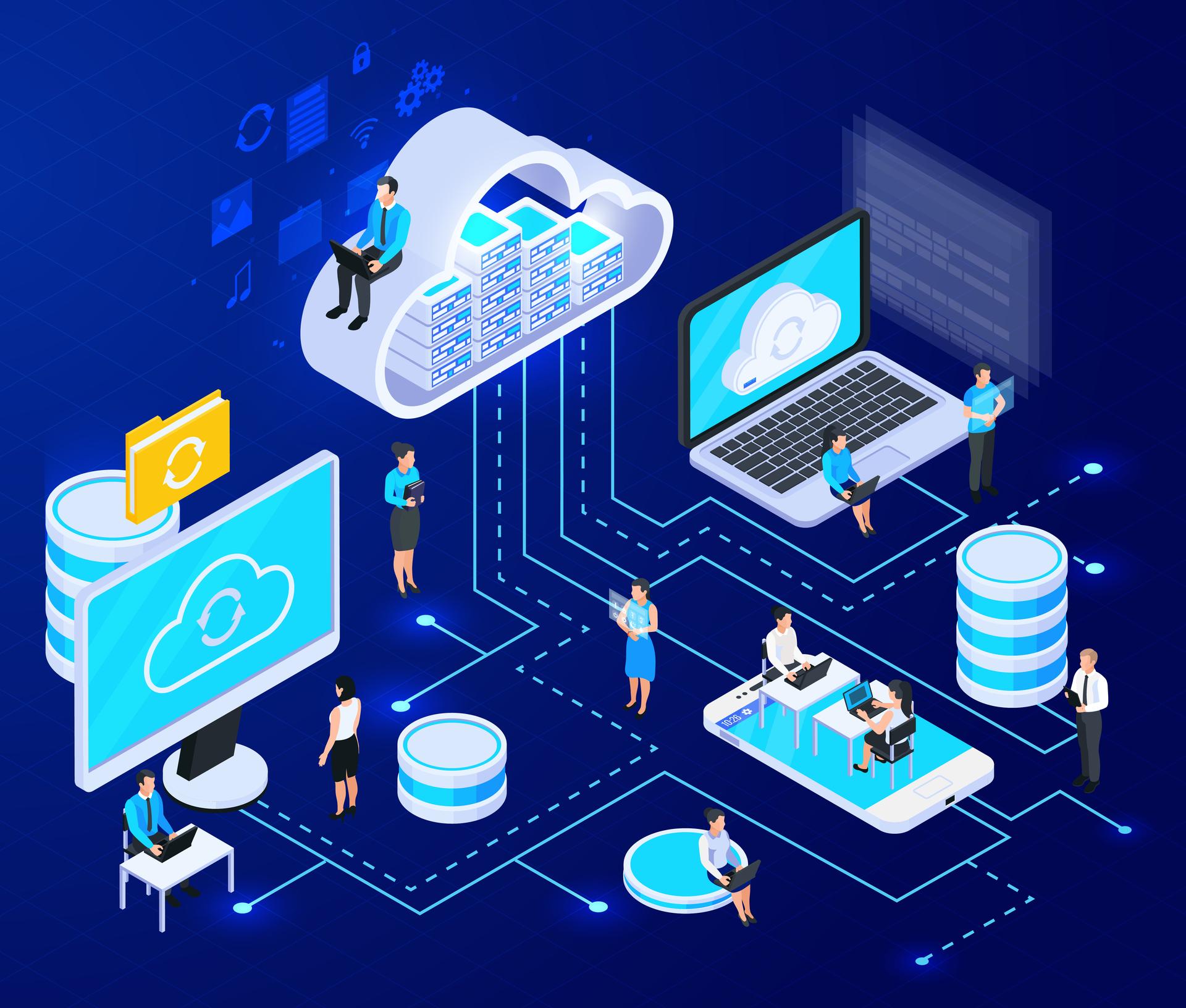El servicio cloud